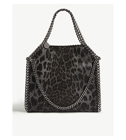 339a47eb83 ... STELLA MCCARTNEY Falabella Baby Bella faux-suede shoulder bag (Leopard.  PreviousNext