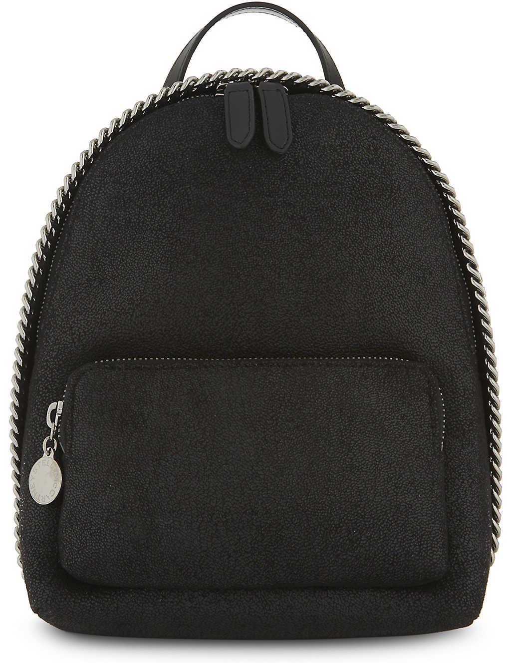 f8fbedf6cf STELLA MCCARTNEY - Falabella faux-suede mini backpack