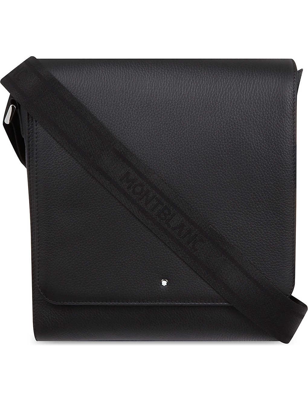 MONTBLANC - Meisterstück leather north south bag   Selfridges.com 272a469e46
