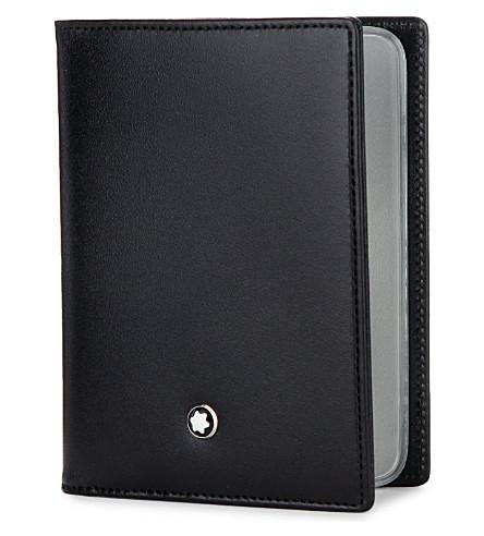 montblanc meisterstck multi credit card case previousnext - Mont Blanc Card Holder