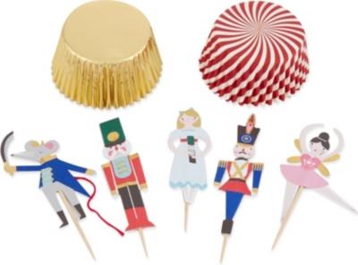 MERI MERI Nutcracker cupcake kit