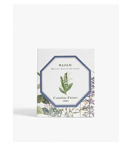 carriere freres lily of the valley candle 185g selfridges com