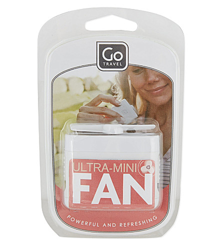 Micro Fan by Go Travel