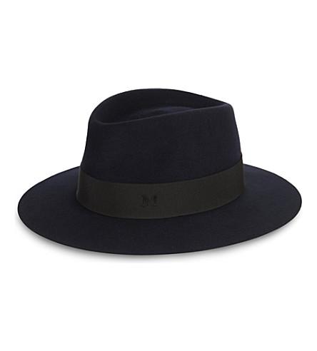 Maison Michel Felt Trilby Hat