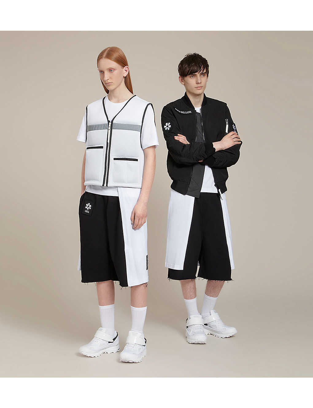 UEG Para Bellum jersey shorts (Black