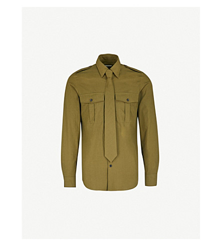 Carol Tailored Fit Cotton Shirt by Dries Van Noten