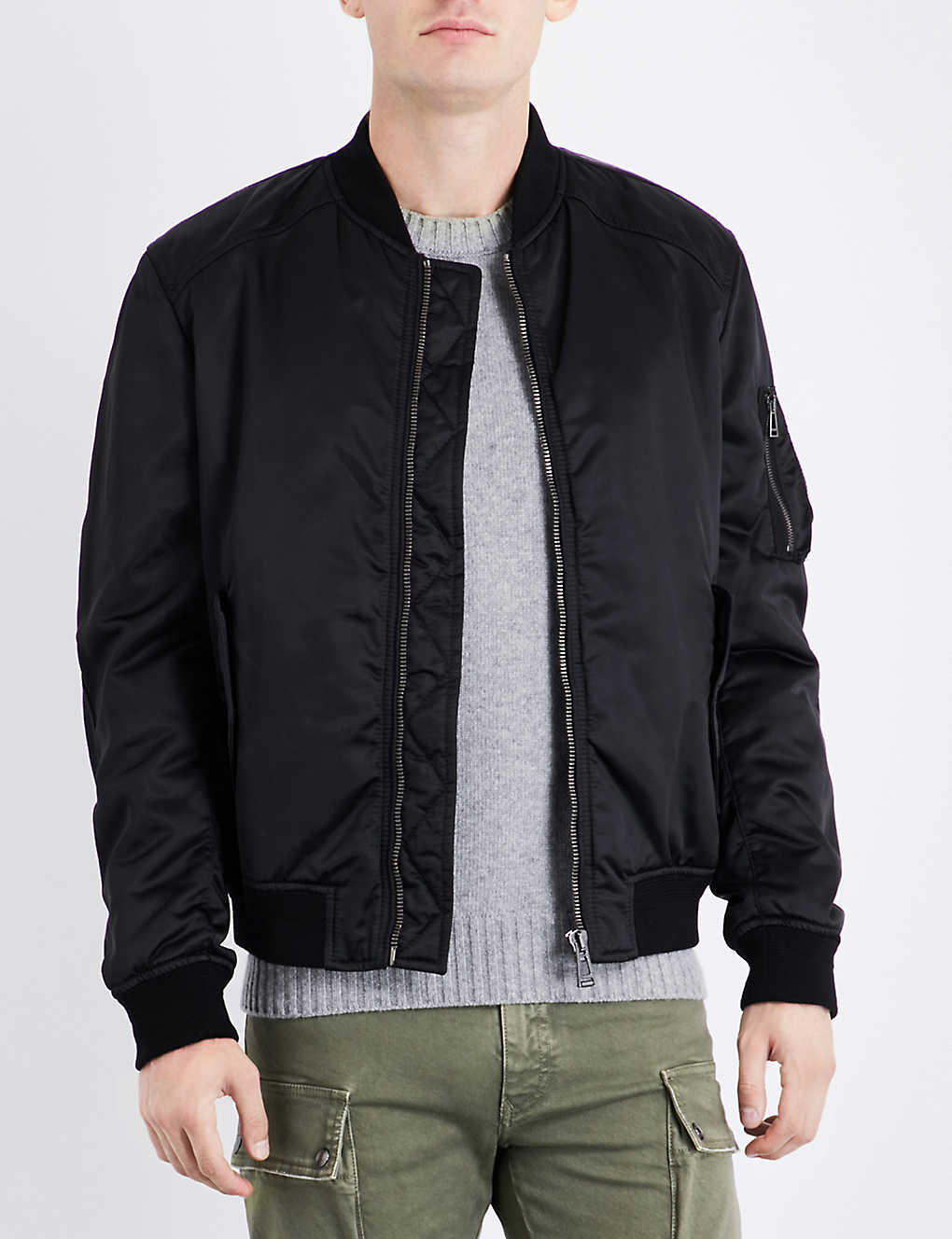 Bomber jackets - Coats & jackets - Clothing - Mens - Selfridges ...