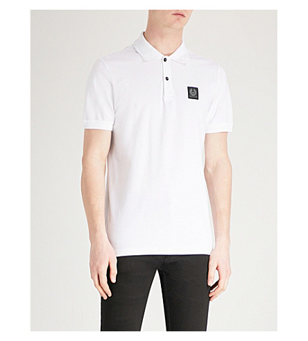 Stannett Cotton Piqué Polo Shirt by Belstaff