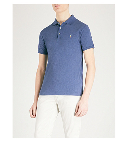Slim Fit Cotton Jersey Polo Shirt by Polo Ralph Lauren
