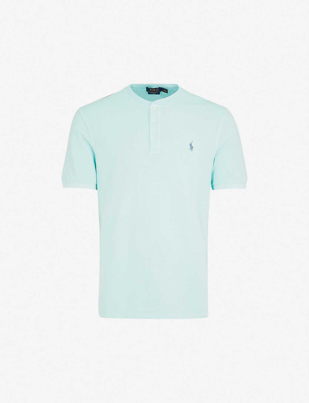 Polo Ralph Lauren Slim Fit Cotton Piqu Polo Shirt Selfridges