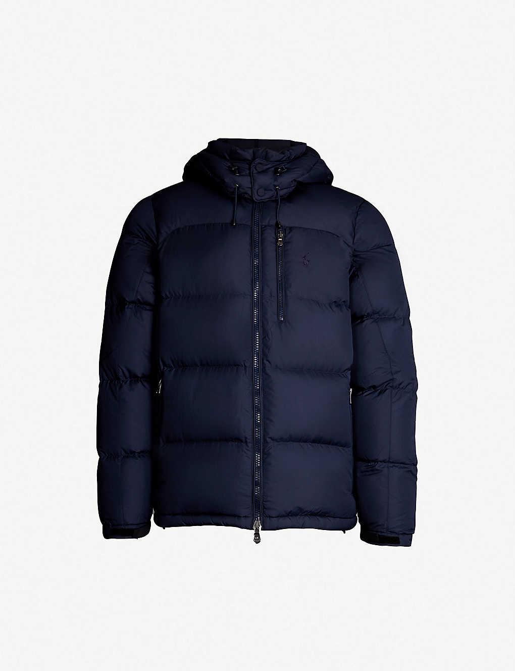 POLO RALPH LAUREN - Padded shell-down jacket   Selfridges.com 1e932b38aa91