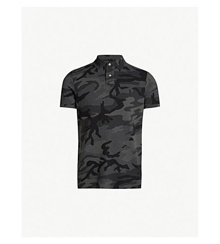 7668964f6047 POLO RALPH LAUREN - Camouflage-print cotton-piqué polo shirt ...