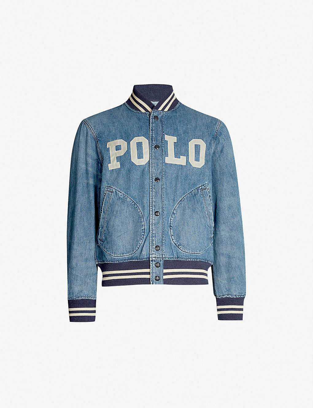 9e7200761423 POLO RALPH LAUREN - Varsity denim jacket