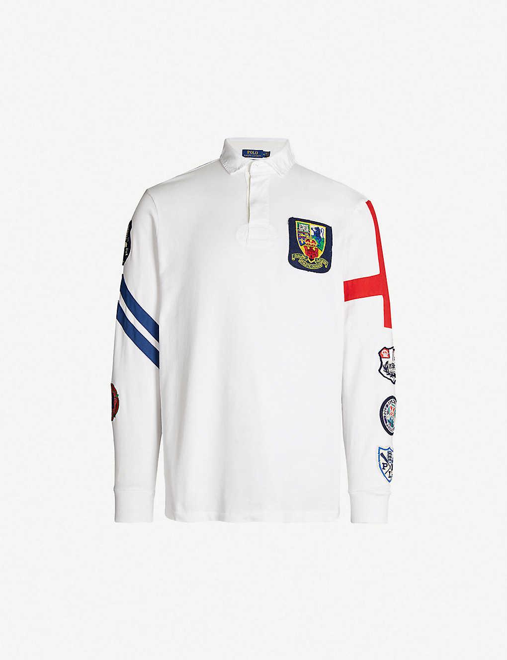 Polo Ralph Lauren Rugby Inspired Cotton Polo Shirt Selfridges