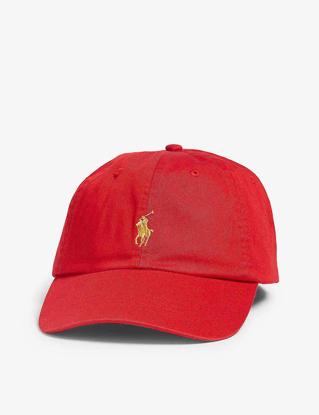 POLO RALPH LAUREN Logo-embroidered cotton baseball cap 987803a310f