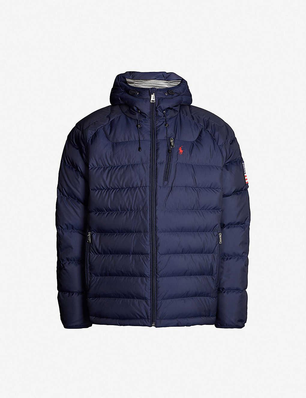 1e9601e4a4c1 POLO RALPH LAUREN - RL Heat Glacier shell-down puffer jacket ...