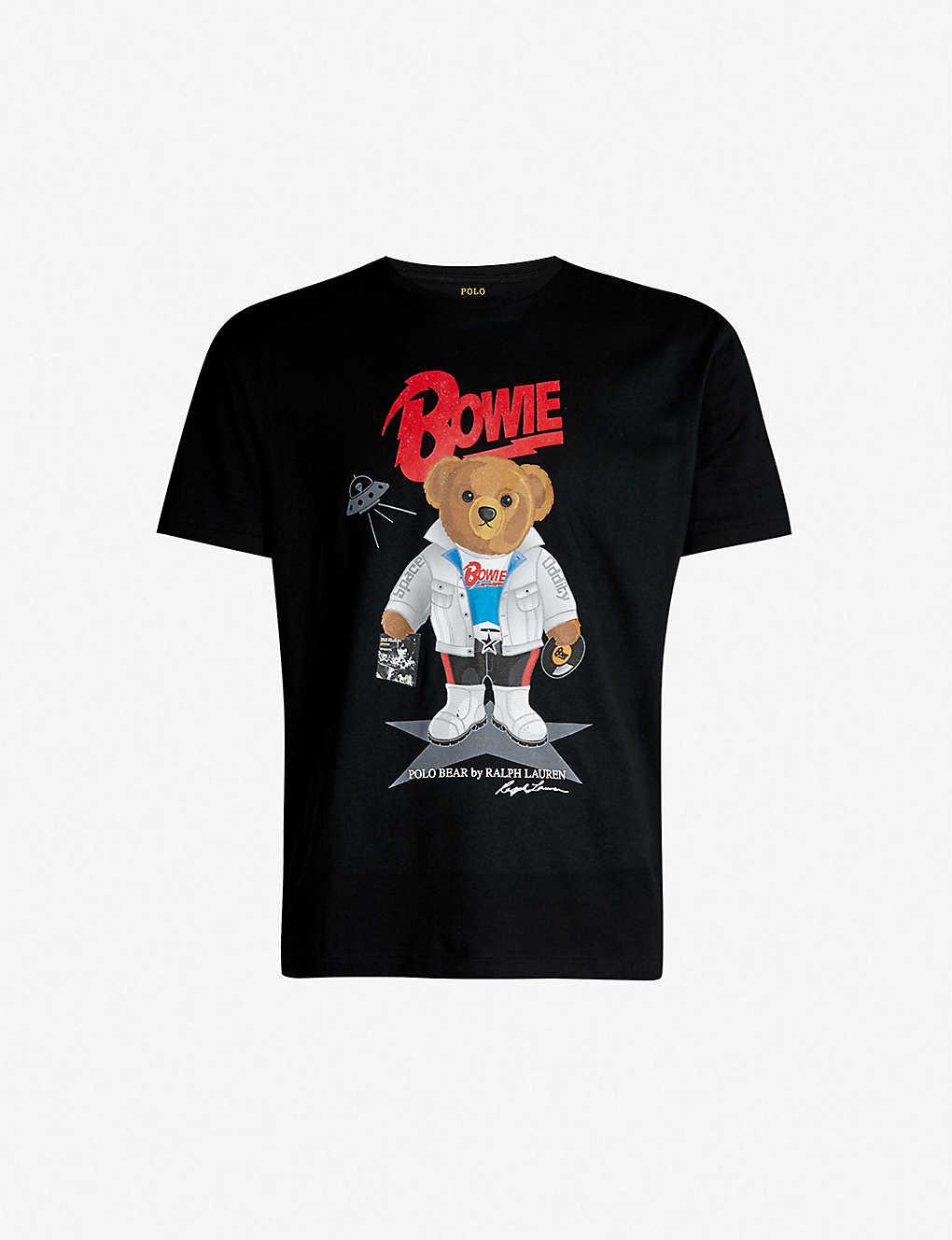 42a35e56b Polo Ralph Lauren Bowie Teddy Bear Print Classic Fit Cotton