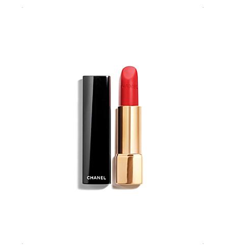 CHANEL <strong>ROUGE ALLURE VELVET</strong> Luminous Matte Lip Colour (Rouge feu