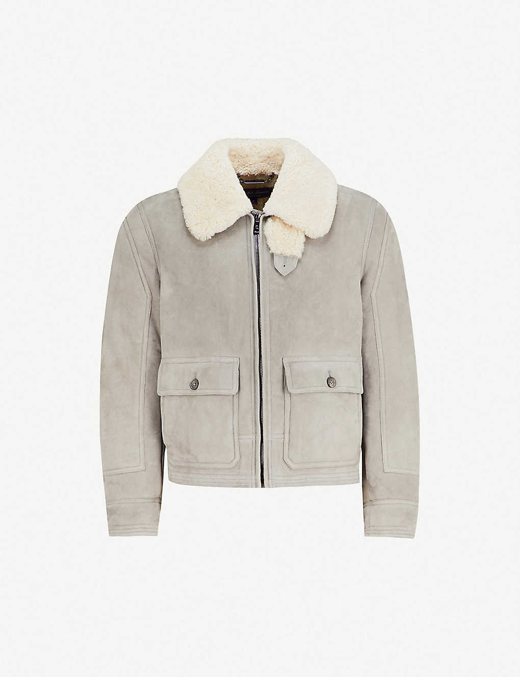 edb0ed4a092b RALPH LAUREN PURPLE LABEL - Shearling jacket
