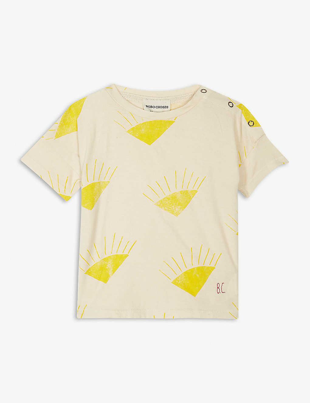 Official Site Cheap Online Sale - Organic Cotton Sun Popper T-Shirt - Bobo Choses Bobo Choses Shop Offer Cheap Sale Huge Surprise Good Selling Cheap Price Wide Range Of For Sale pypVe
