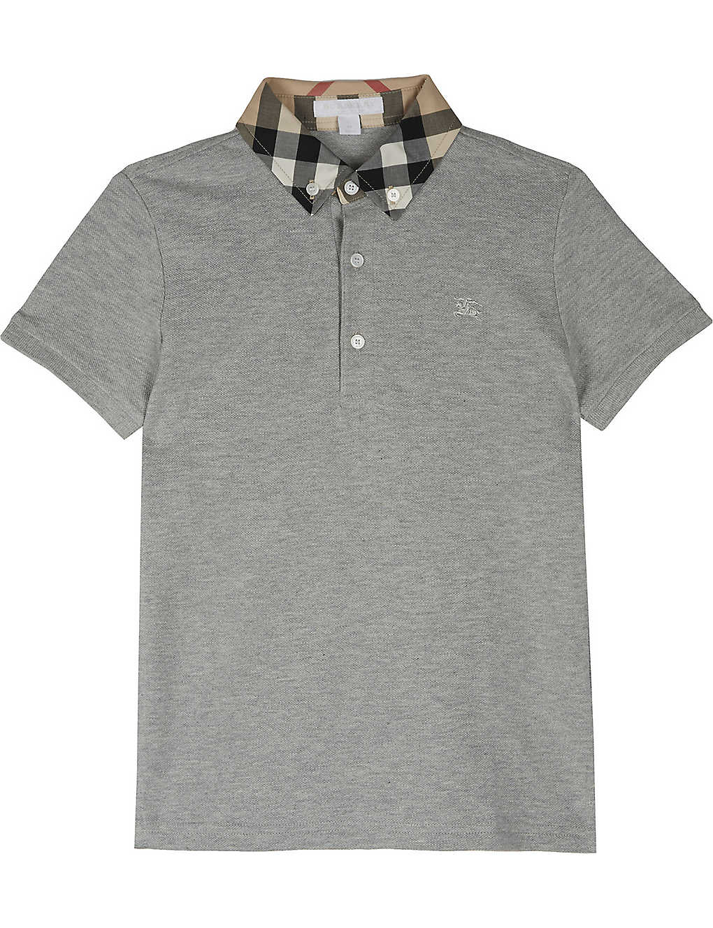 6f0fe0dfa BURBERRY - William cotton polo shirt 4-14 years