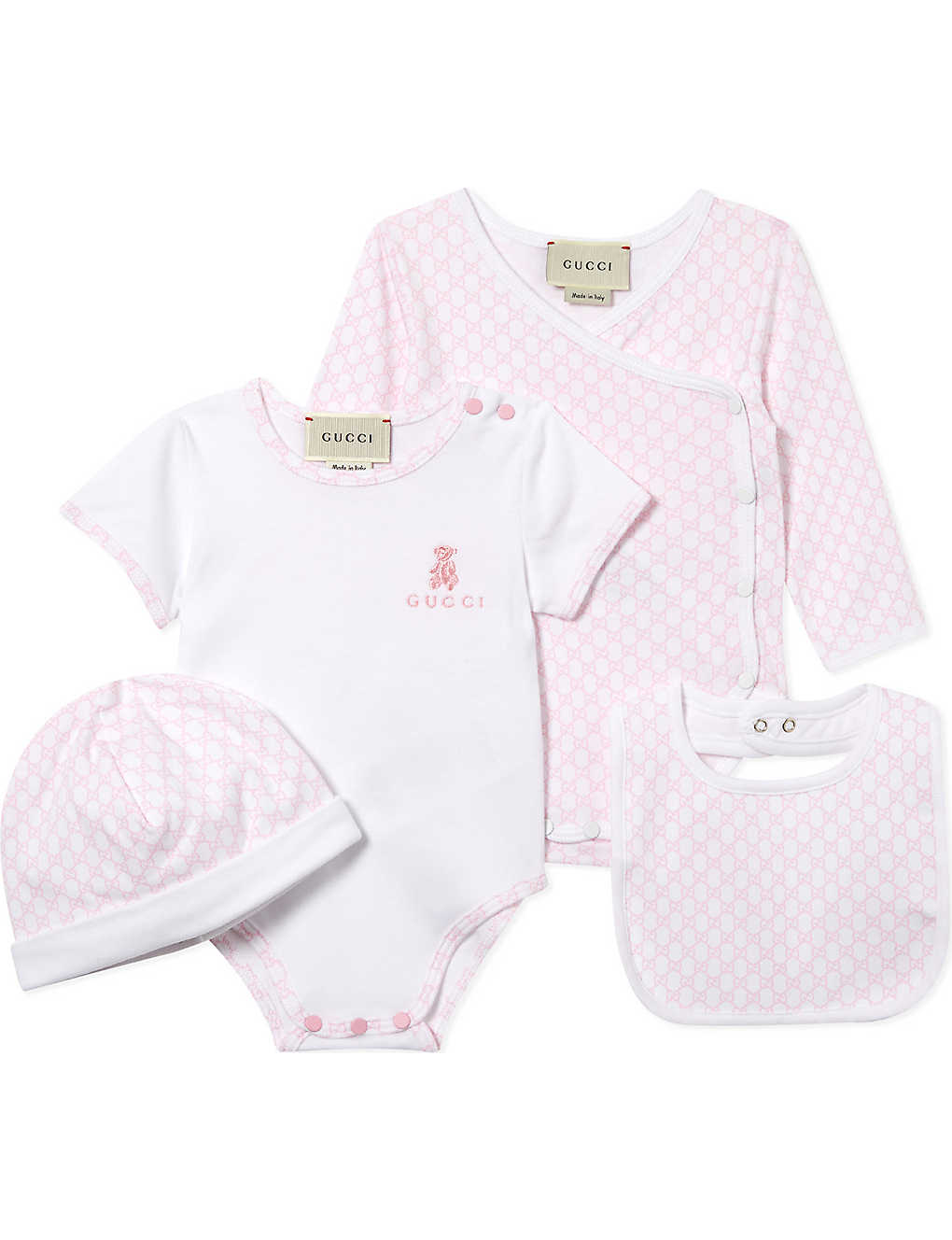 GUCCI - Baby cotton gift set 0-12 months  00681ce58e3f3