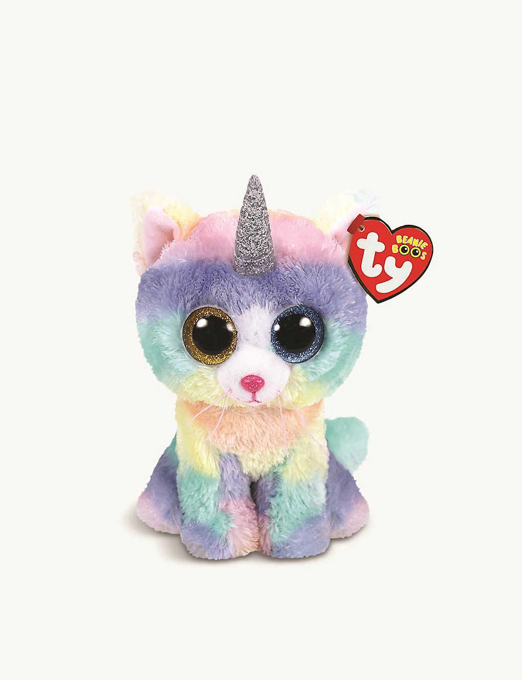TY - Beanie Boo Heather cat soft toy 10cm  0bd855f6f990