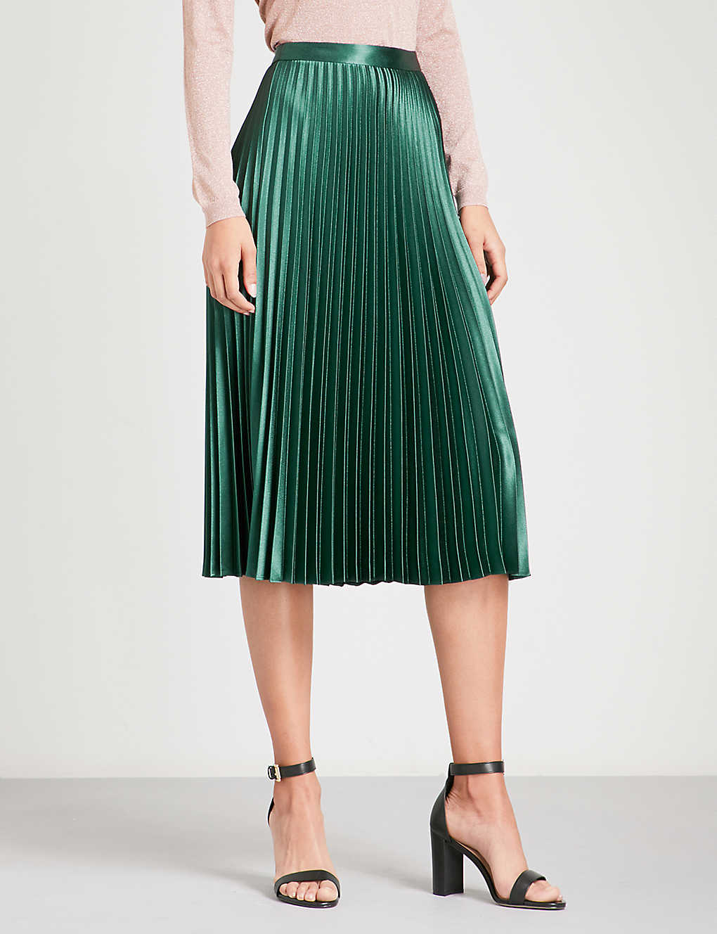 Christian Dior Satin Crepe Skirt