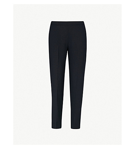 Anna Slim Fit Woven Trousers by Whistles