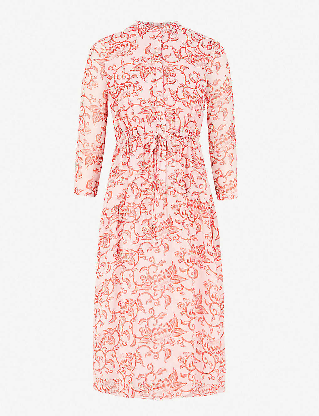 Whistles Bali Print Shirt Woven Dress Selfridges