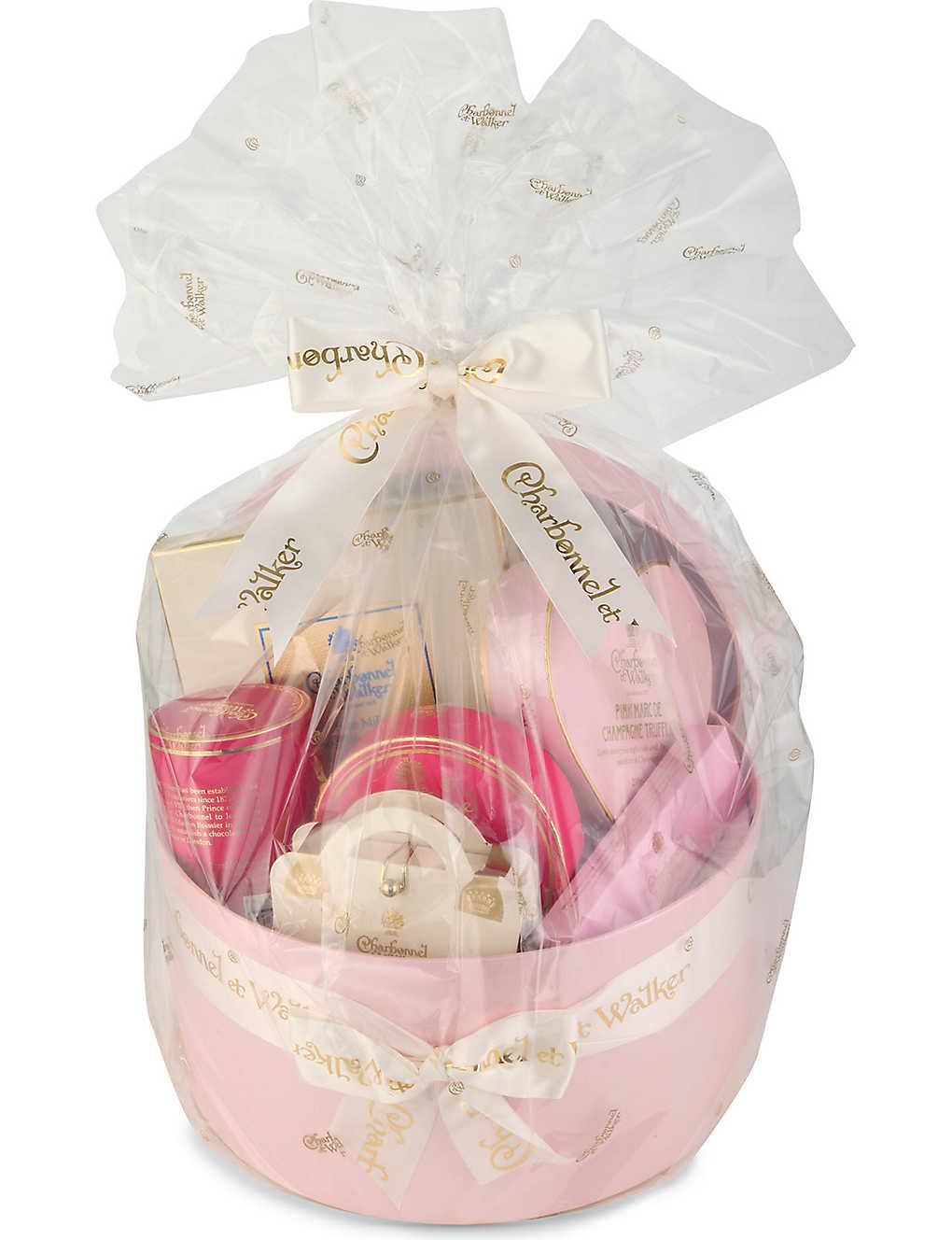 CHARBONNEL ET WALKER - Pink champagne chocolate hamper  1c274554a
