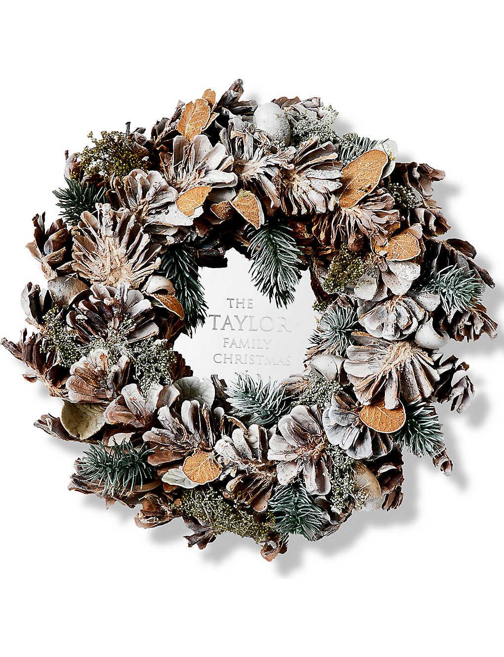 christmas wreaths u0026 garlands selfridges christmas shop