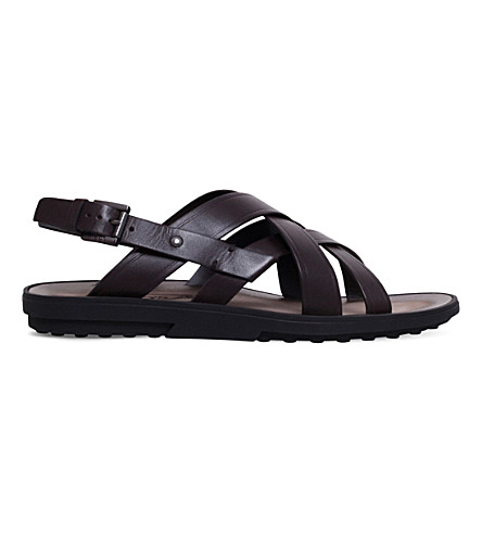 Tod's Multistrap Leather Sandals cheap sale Manchester cheap low shipping cheapest price sale online 2015 for sale footlocker PLd9V1hlm8