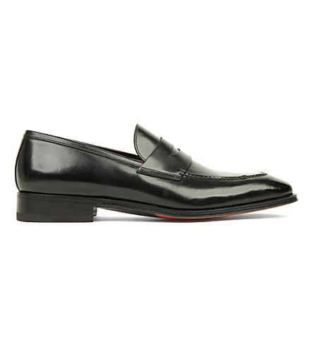 Manchester Great Sale Online Red Pre Order Eastbay Santoni Duke Leather Penny Loafer Outlet Release Dates Comfortable For Sale OlgD0