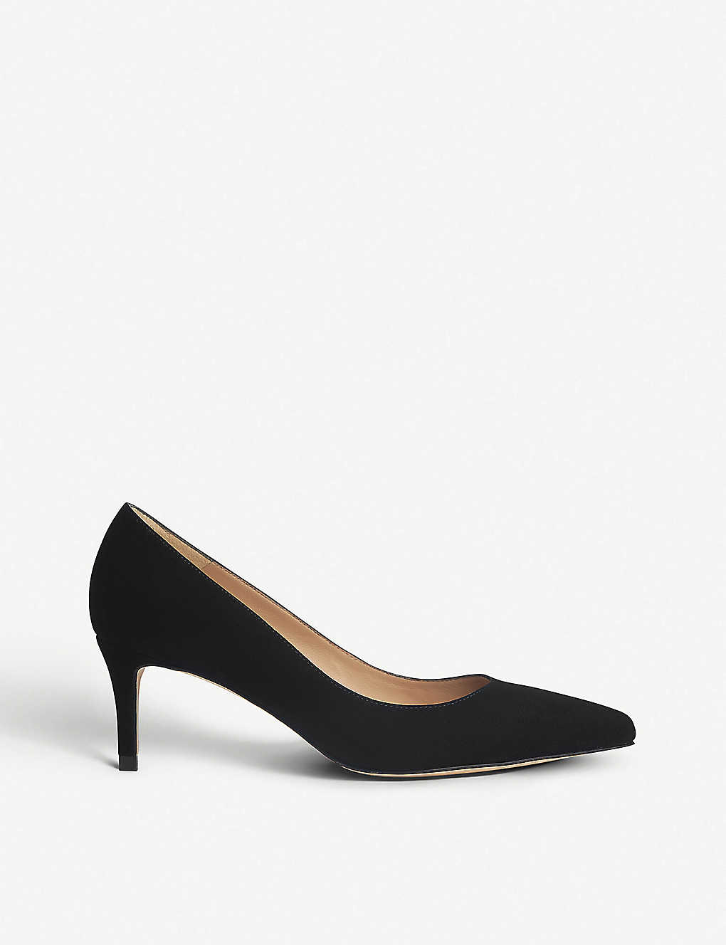 0c028af377a LK BENNETT - Elma leather court shoes