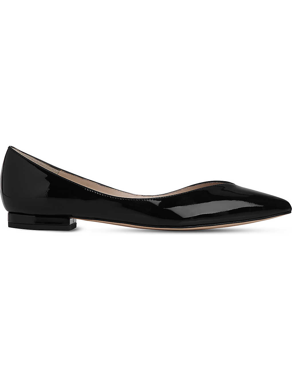 dca3b769dee9 LK BENNETT - Luisa pointed patent-leather flats