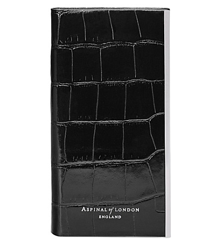 I Phone 7+ Leather Book Case by Aspinal Of London