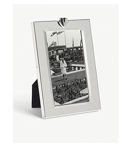 VERA WANG @ WEDGWOOD - Love Always silver photo frame 3x5 ...