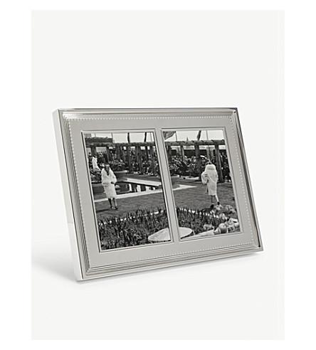 VERA WANG @ WEDGWOOD - Grosgrain double invitation photo frame ...
