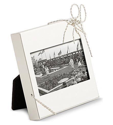 VERA WANG @ WEDGWOOD - Love Knots mini picture frame   Selfridges.com