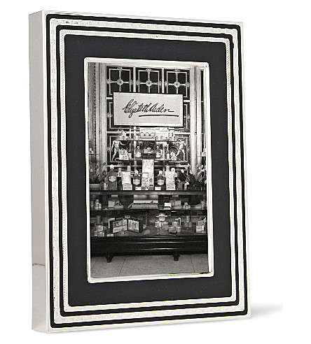 Vera Wang Wedgwood With Love Noir Picture Frame 4x6