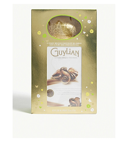 Guylian sea shells easter egg gift box 275g selfridges guylian sea shells easter egg gift box 275g negle Image collections