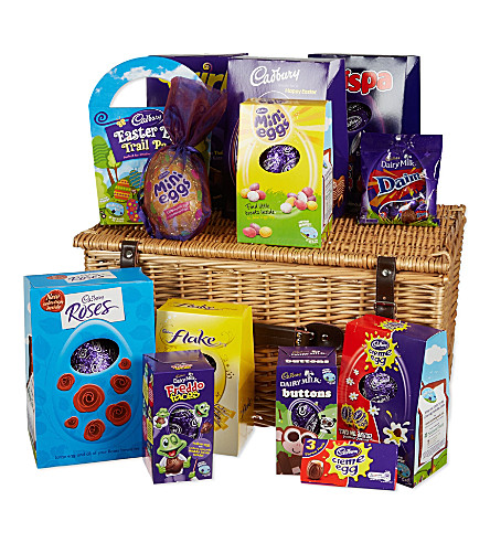 Cadbury ultimate easter chocolate basket selfridges previousnext negle Image collections