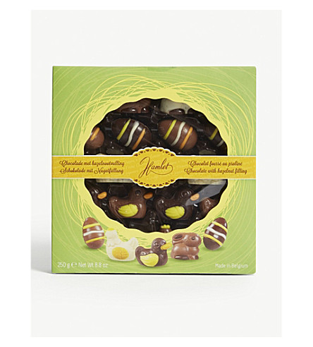 Easter figures assorted chocolates gift box 250g selfridges easter figures assorted chocolates gift box 250g negle Image collections