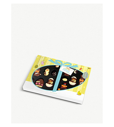 Easter assorted chocolates gift box 210g selfridges easter assorted chocolates gift box 210g negle Image collections