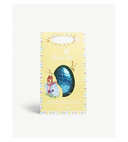 Holdsworth hoppy happy milk chocolate easter egg 200g holdsworth hoppy happy milk chocolate easter egg 200g negle Image collections