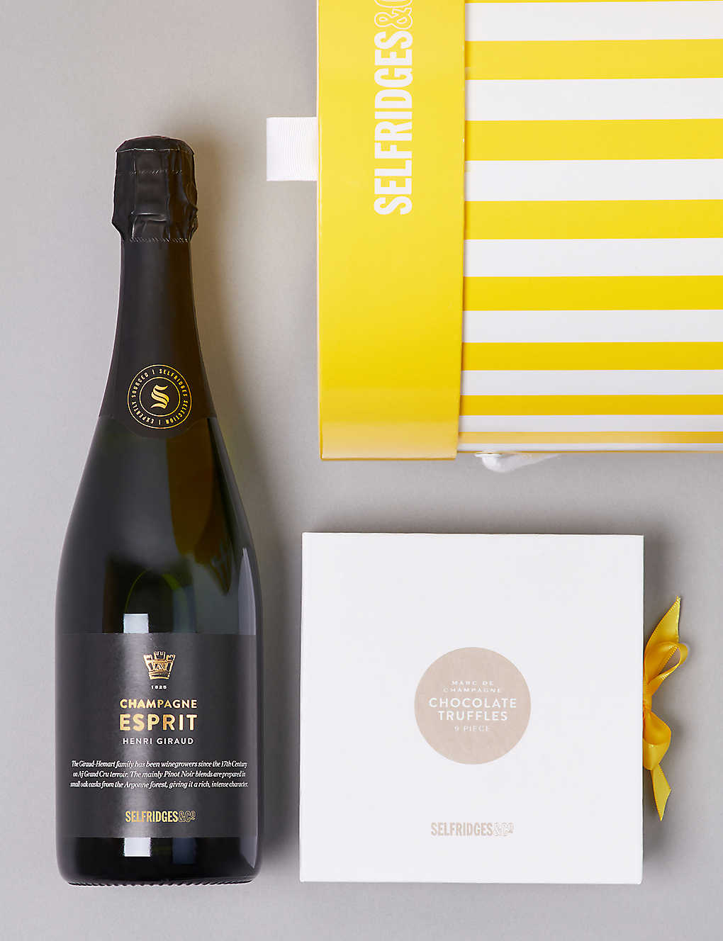 Unique food wine gifts foodhall selfridges selfridges selection champagne chocolates gift box negle Gallery