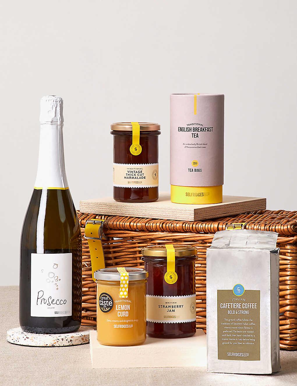 Unique food wine gifts foodhall selfridges selfridges selection breakfast in bed hamper negle Gallery