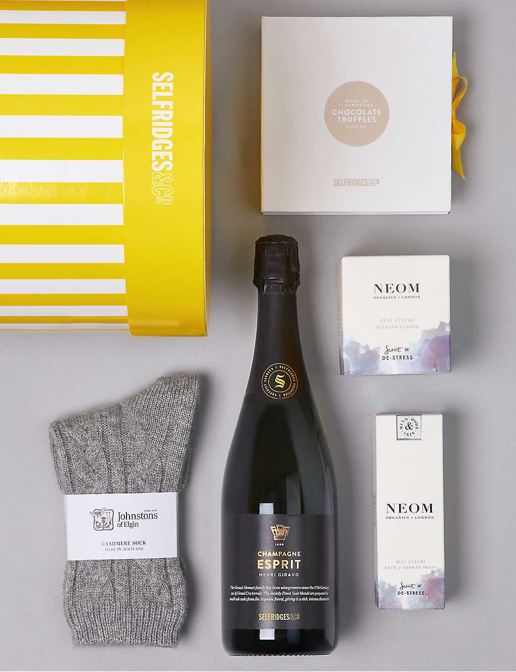 Unique food wine gifts foodhall selfridges selfridges selection rest relaxation gift box negle Gallery