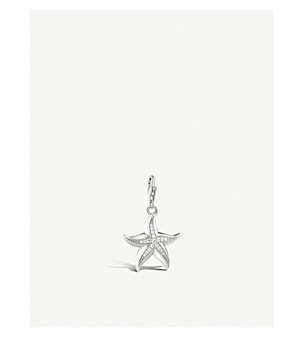 Thomas sabo starfish sterling silver charm pendant selfridges thomas sabo starfish sterling silver charm pendant previousnext aloadofball Gallery